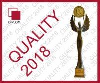 Quality 2018 Diplom